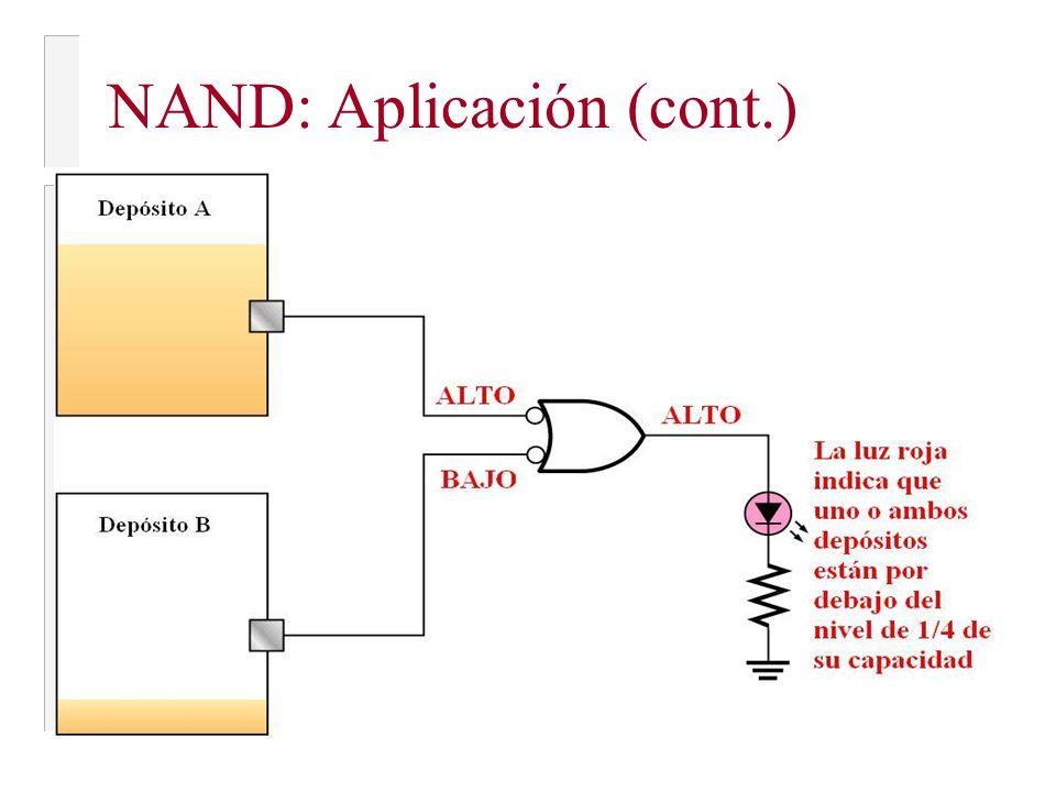 NAND: Aplicación (cont.)