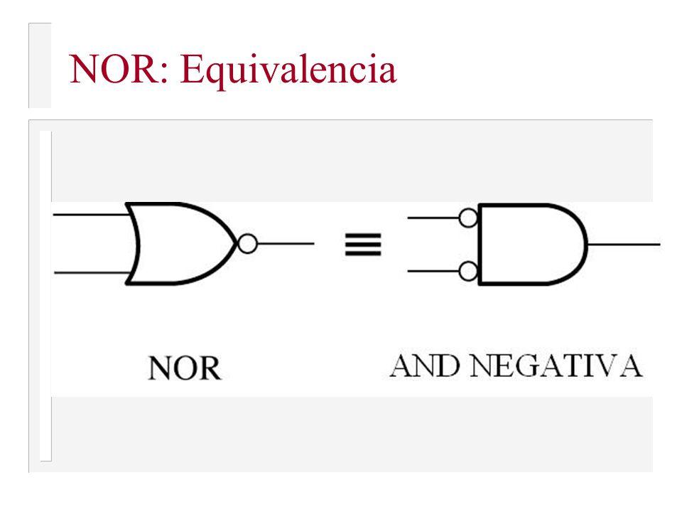 NOR: Equivalencia