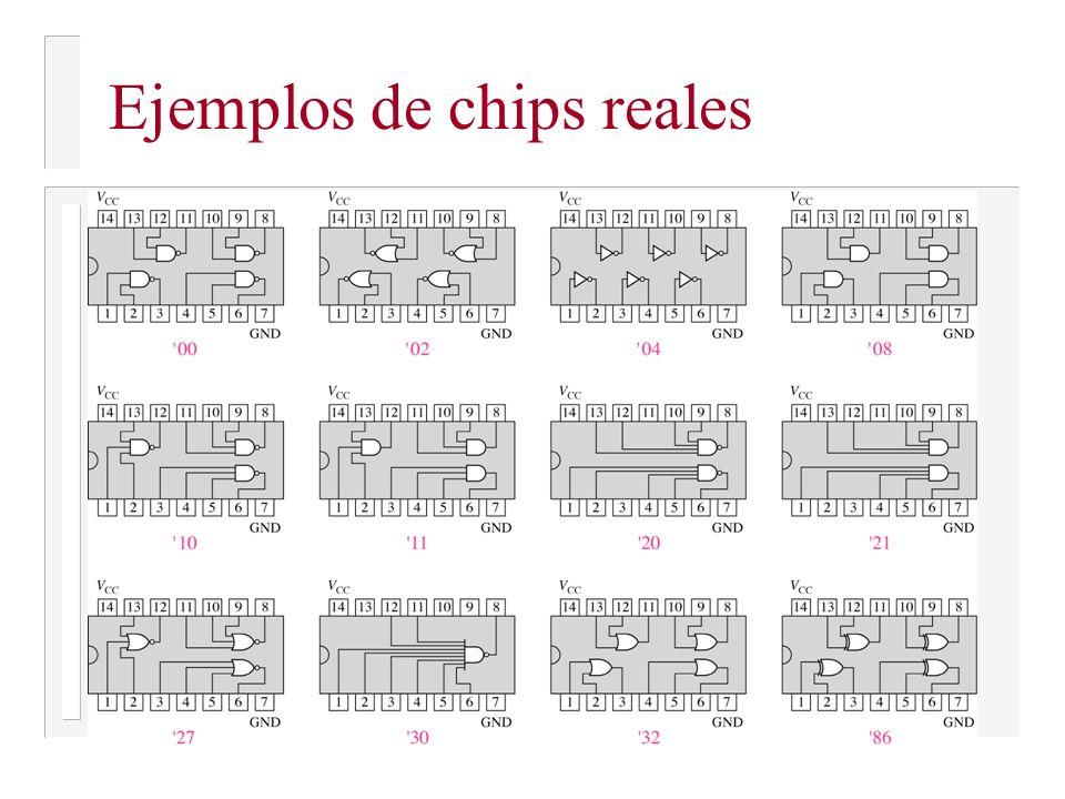 Ejemplos de chips reales