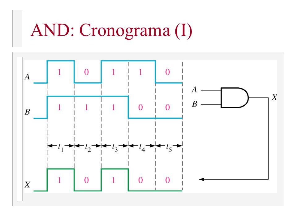 AND: Cronograma (I)