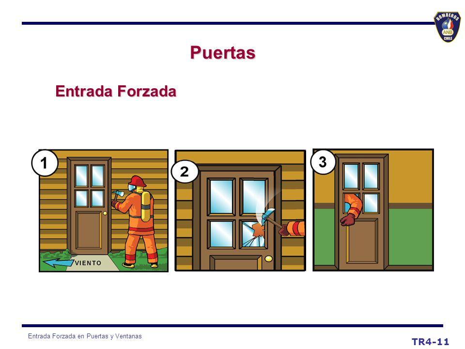 Entrada Forzada en Puertas y Ventanas TR4-11 Puertas Entrada Forzada
