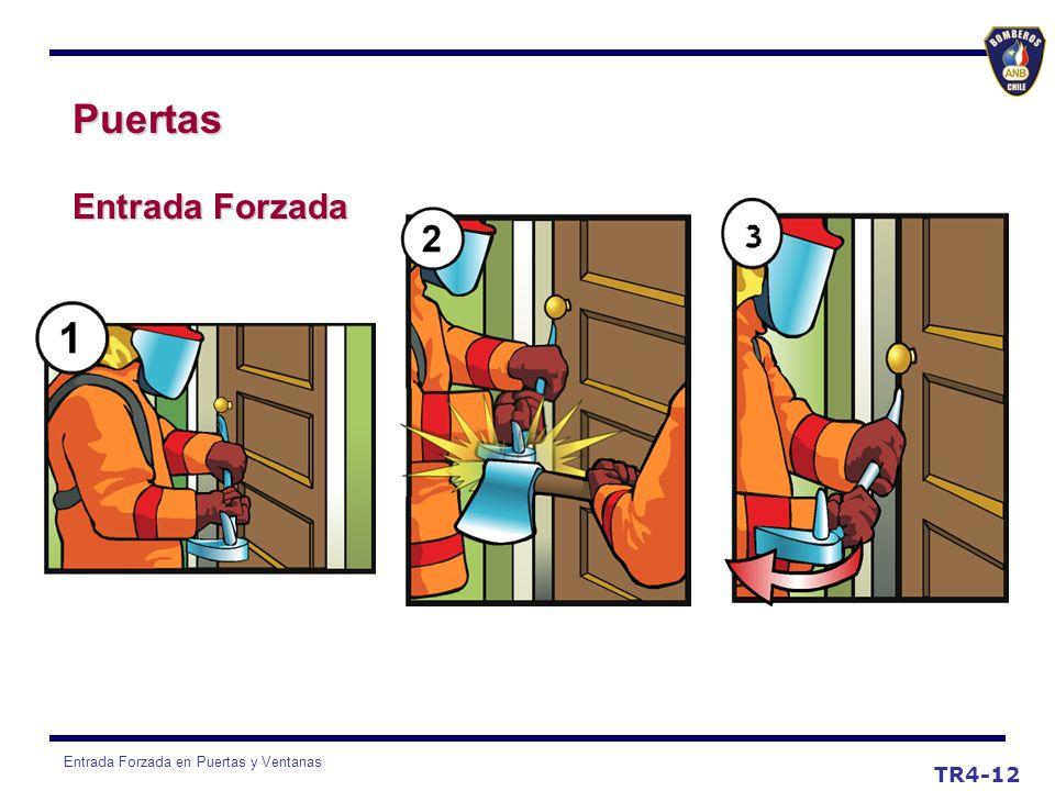 Entrada Forzada en Puertas y Ventanas TR4-12 Puertas Entrada Forzada