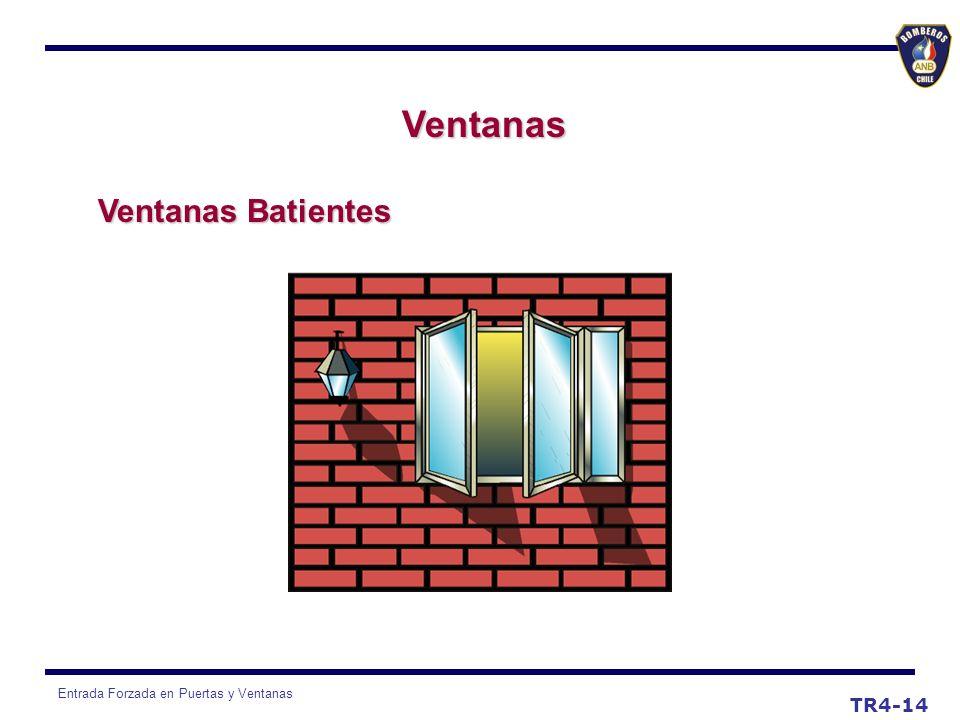 Entrada Forzada en Puertas y Ventanas TR4-14 Ventanas Ventanas Batientes