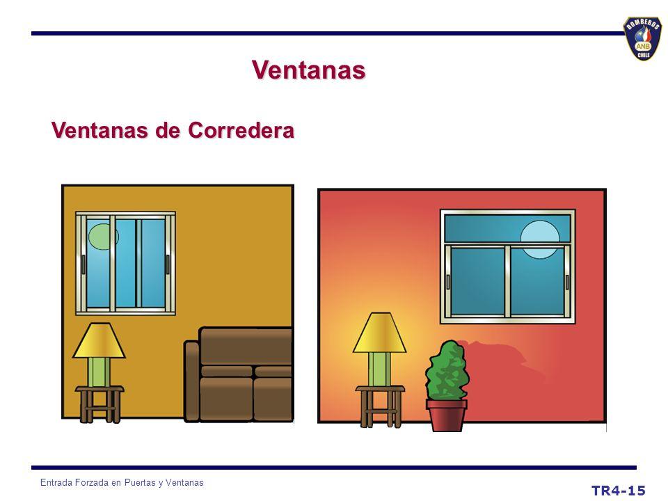Entrada Forzada en Puertas y Ventanas Ventanas Ventanas de Corredera TR4-15