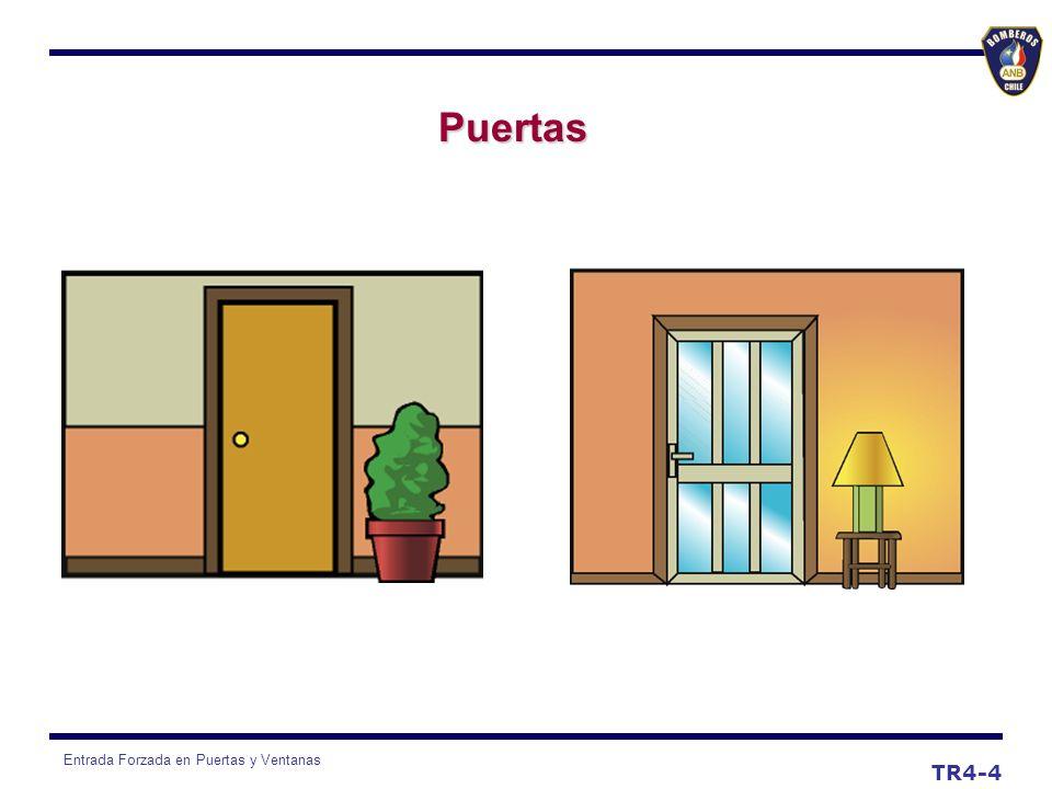 Entrada Forzada en Puertas y Ventanas TR4-4 Puertas