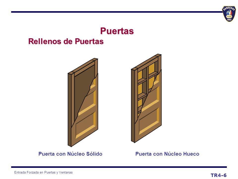 Entrada Forzada en Puertas y Ventanas TR4-7 Puertas b) Puertas de Corredera