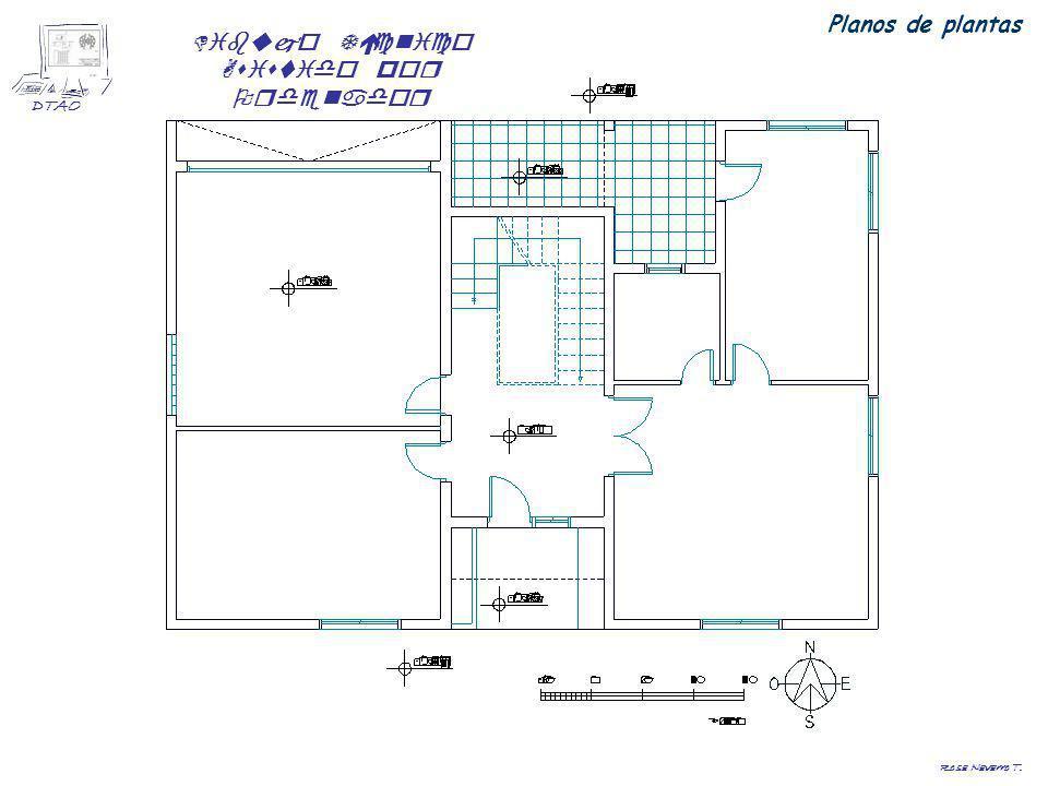 Dibujo Técnico Asistido por Ordenador DTAO Rosa Navarro T. Planos de plantas