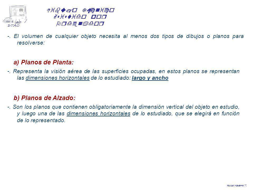 Dibujo Técnico Asistido por Ordenador DTAO Rosa Navarro T. a) Plano de Planta