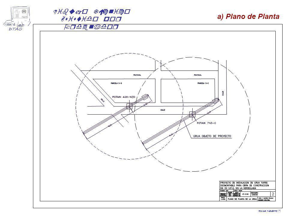 Dibujo Técnico Asistido por Ordenador DTAO Rosa Navarro T. b) Plano de Alzado