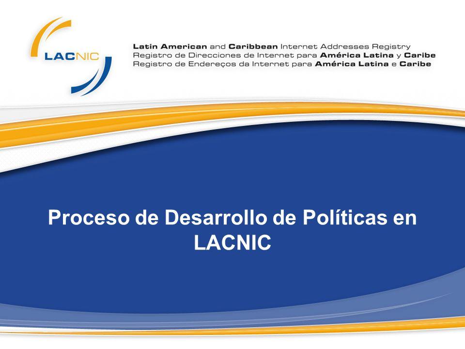 LACNIC – Puertas abiertas a la comunidad Recursos de Numeración de Internet No reconocen fronteras.