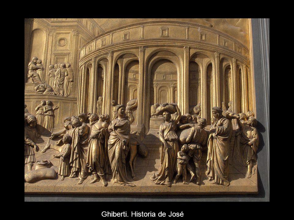 Ghiberti. Historia de José