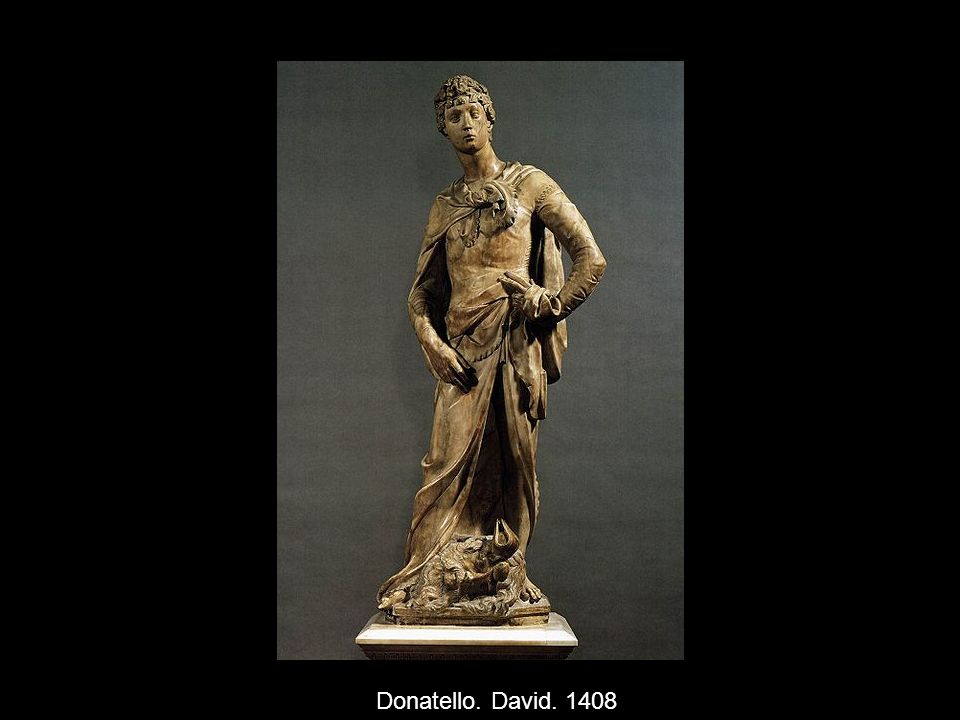 Donatello. David. 1408