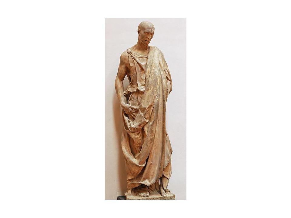 Donatello. Profeta Habacuc. Campanario de la catedral de Florencia, ca. 1420