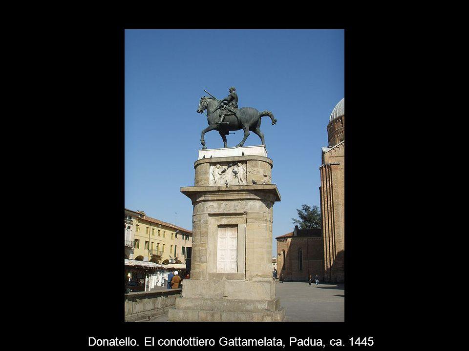 Donatello. El condottiero Gattamelata, Padua, ca. 1445