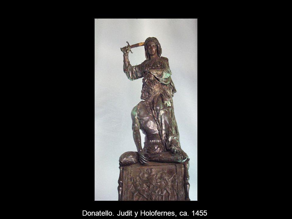 Donatello. Judit y Holofernes, ca. 1455