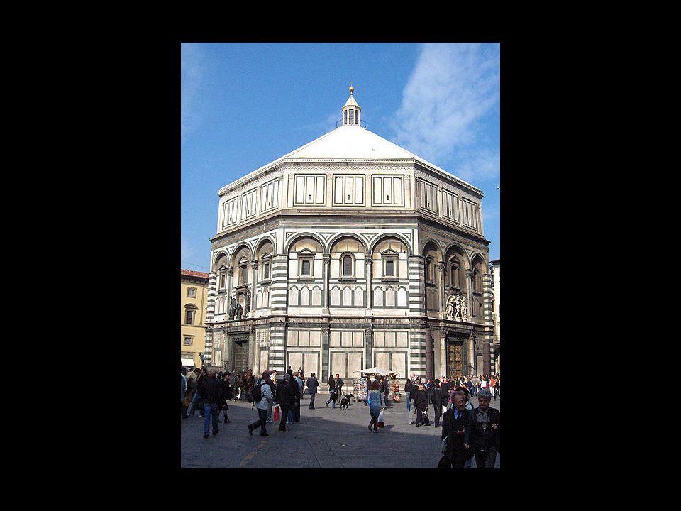 Andrea Pisano. Baptisterio de Florencia
