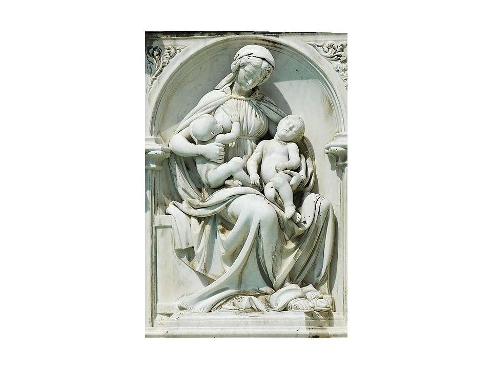 Della Quercia. Fontana Gaia. Siena, 1414-1419