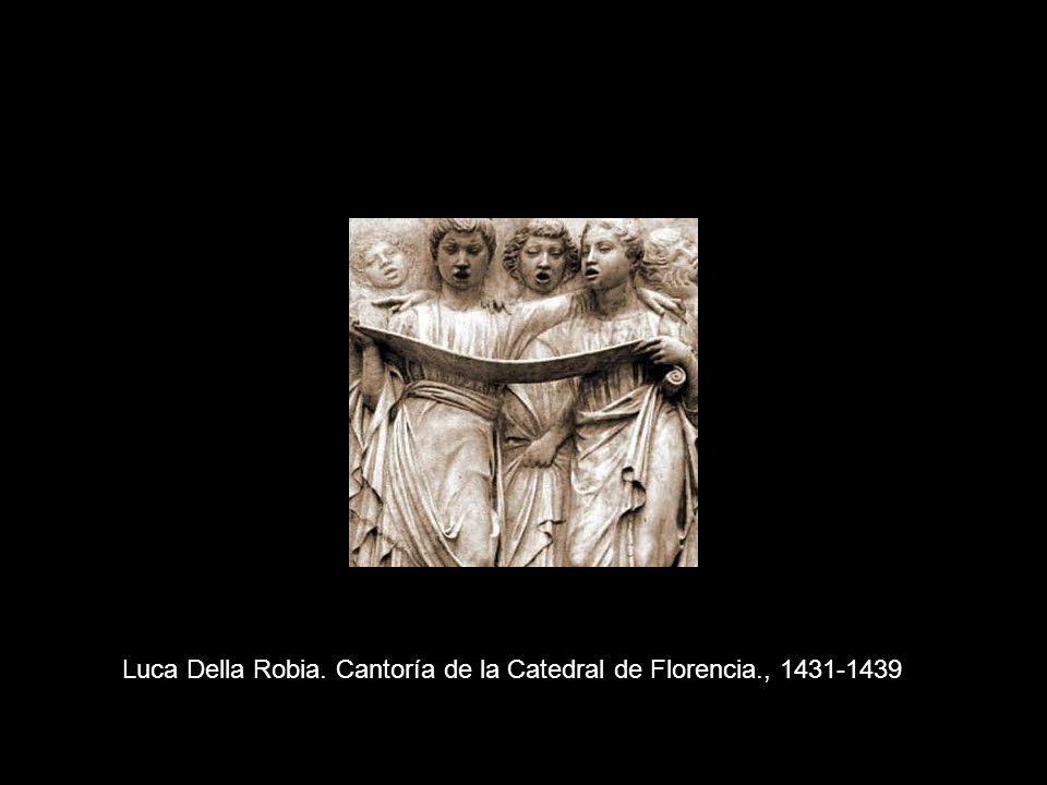 Luca Della Robia. Cantoría de la Catedral de Florencia., 1431-1439