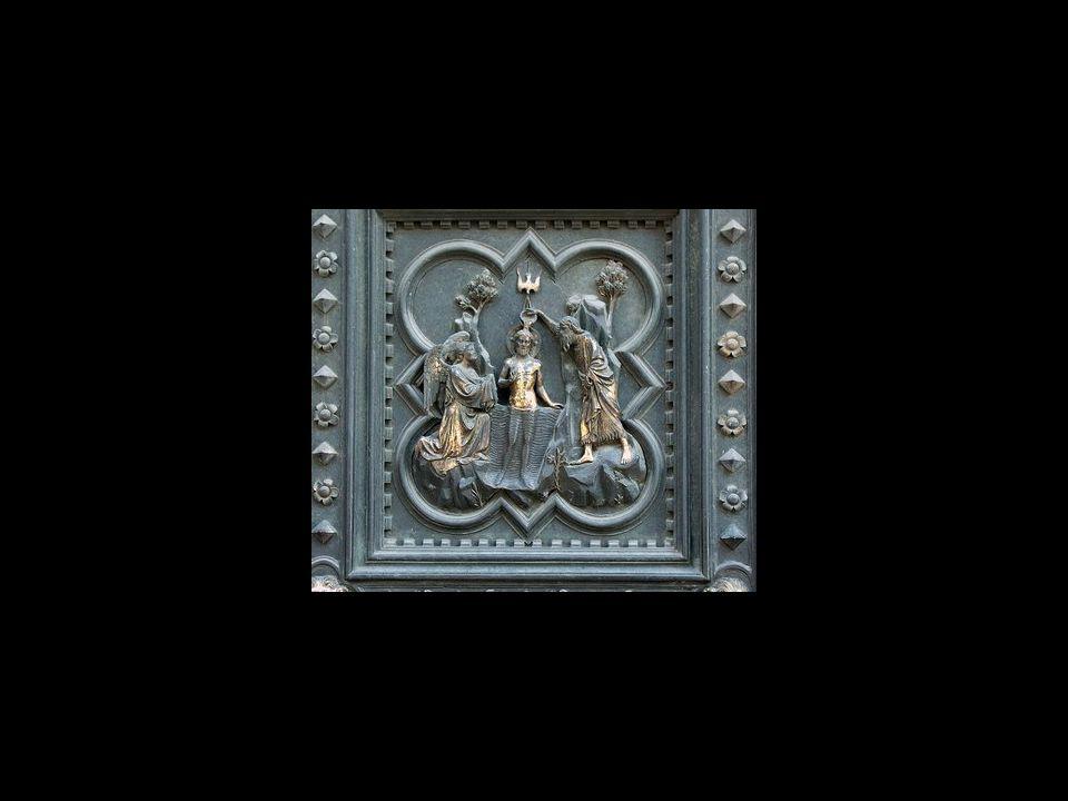 Ghiberti. Autorretrato en las Puertas del Paraíso