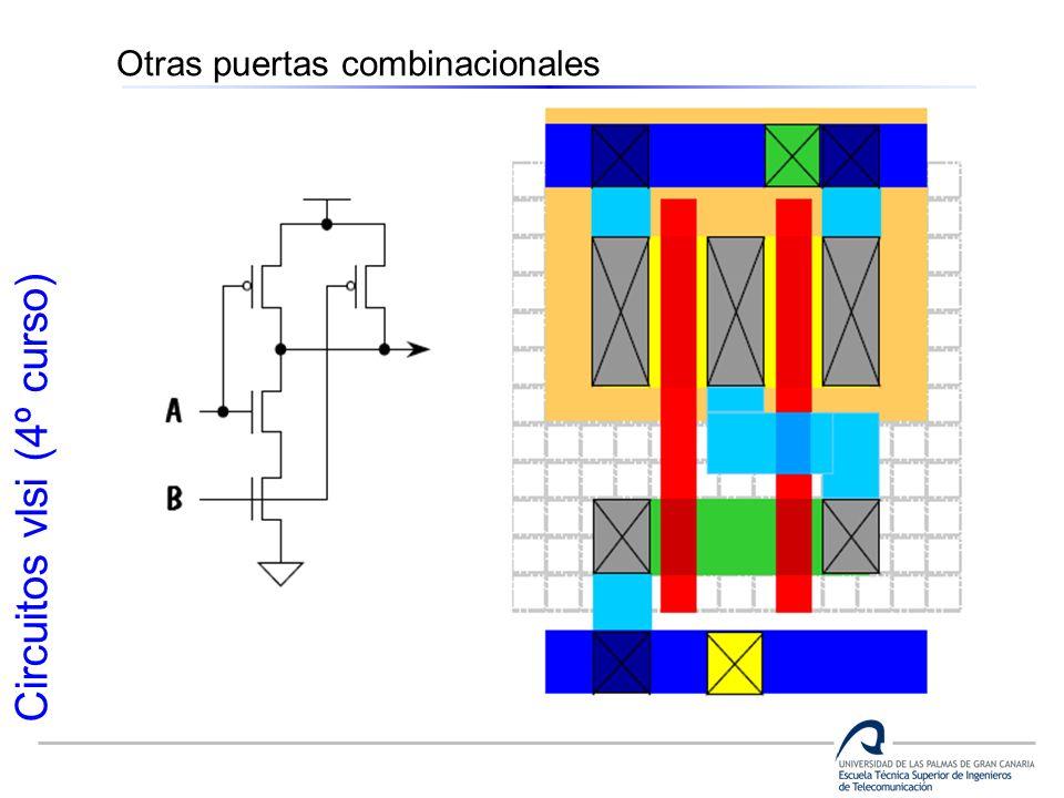 Circuitos vlsi (4º curso) Otras puertas combinacionales
