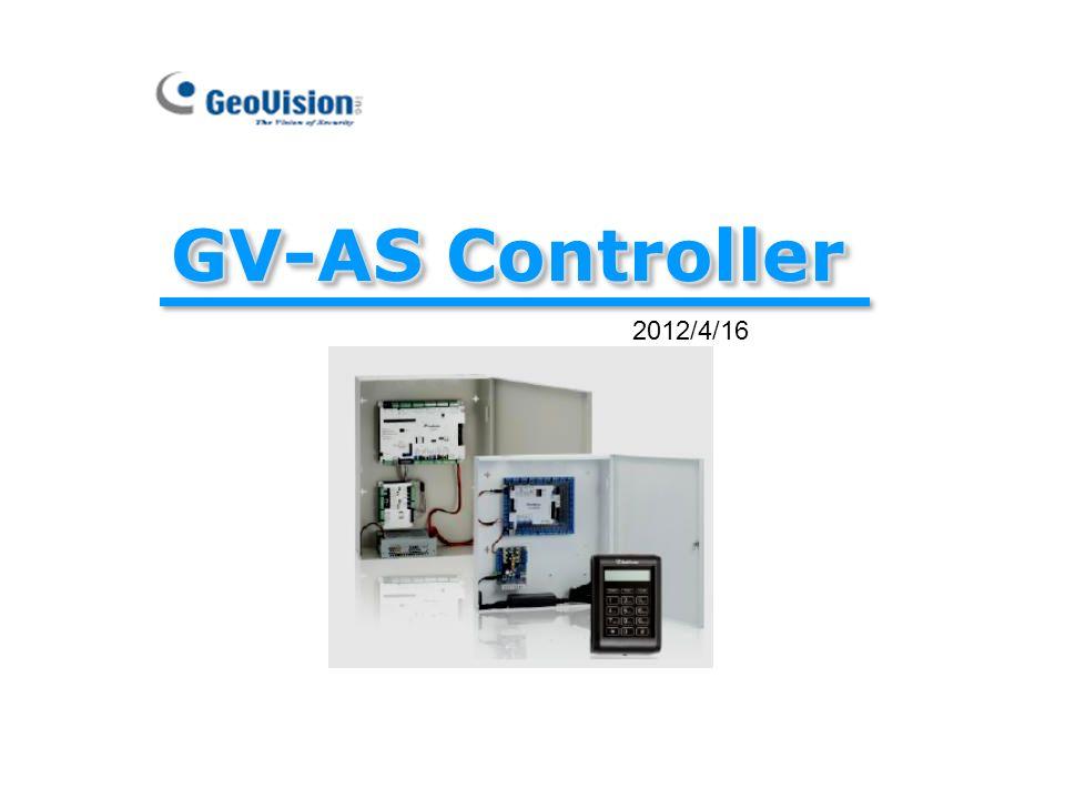 GV-AS Controller 2012/4/16