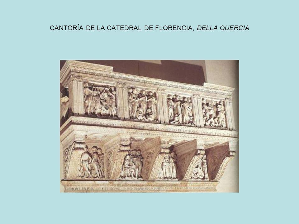 CANTORÍA DE LA CATEDRAL DE FLORENCIA, DELLA QUERCIA