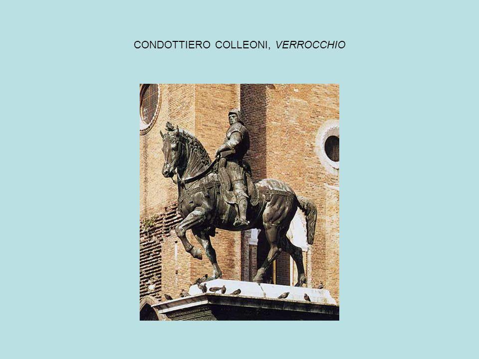 CONDOTTIERO COLLEONI, VERROCCHIO