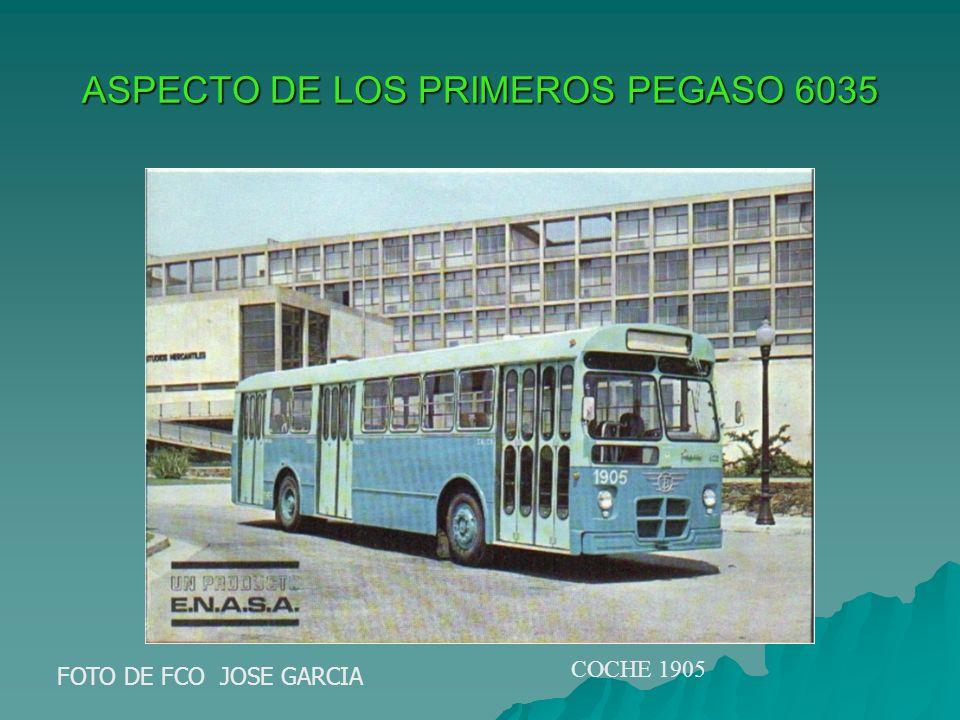 ASPECTO DE LOS PRIMEROS PEGASO 6035 FOTO DE FCO JOSE GARCIA COCHE 1905