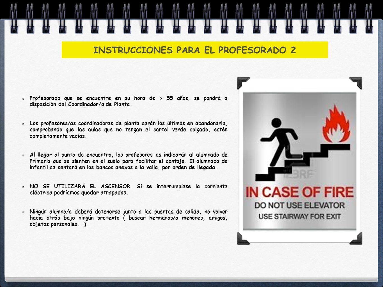 INSTRUCCIONES PARA EL ALUMNADO NORMA 1: Los alumnos/as deberán seguir las indicaciones de su profesor/a y en ningún caso deberán seguir iniciativas propias.