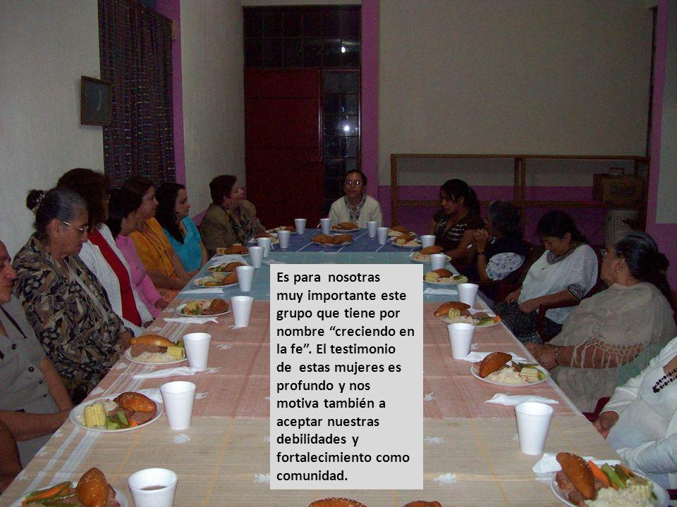 Es importante señalar que llegan a reunirse hasta 3 o 4 generaciones de mujeres, pues participan la abuela, la madre, hij@s y hasta niet@s. El mes est