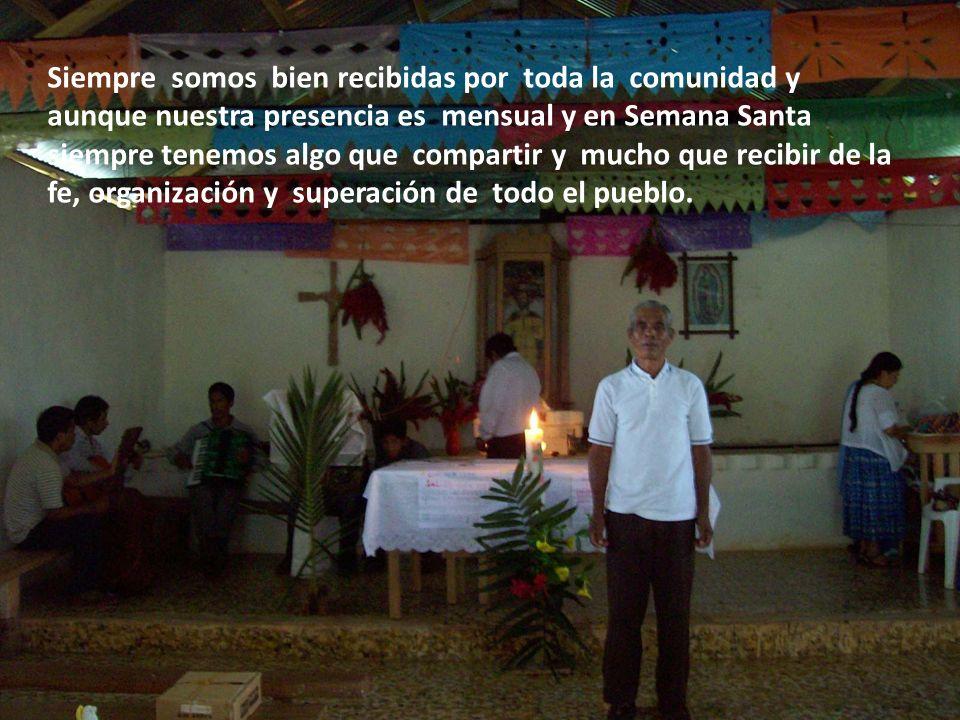 y que eternamente expresan su agradecimiento a la Iglesia de México, por su solidaridad y apoyo. Esta aldea está integrada por retornados, gente que t