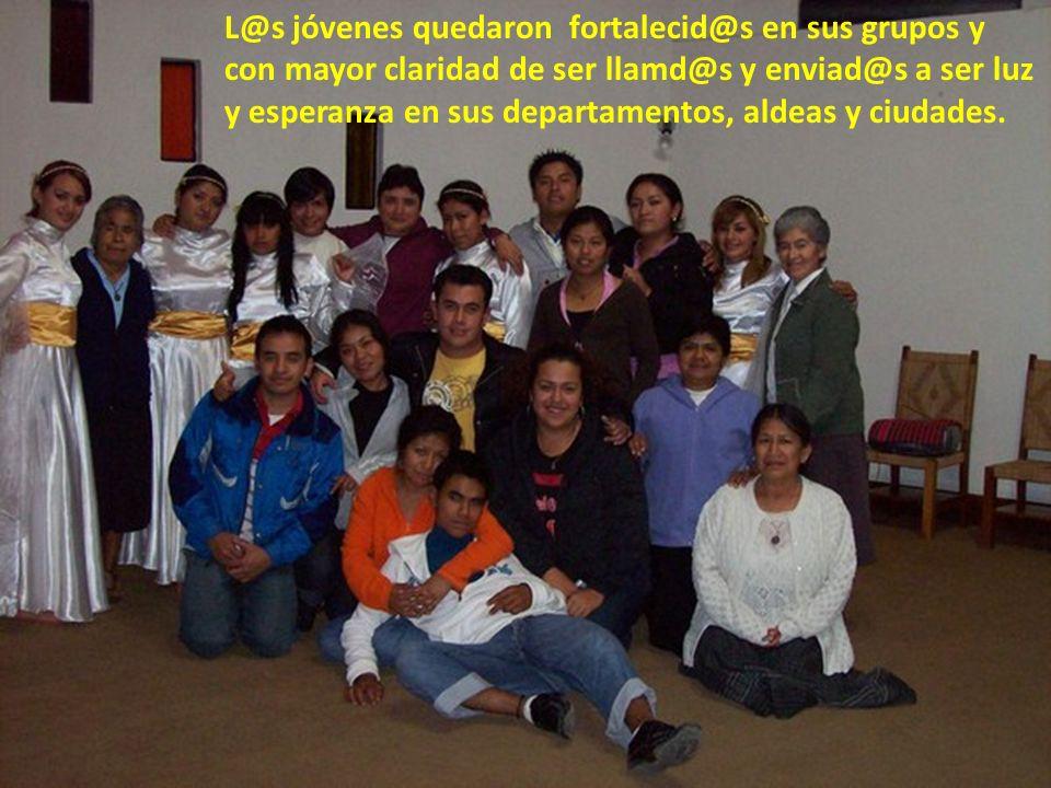La realización en el mes de julio del Encuentro Juvenil de la Zona Nororiental (5 Diócesis) con sede en Cobán, fue cúspide del acompañamiento comunita