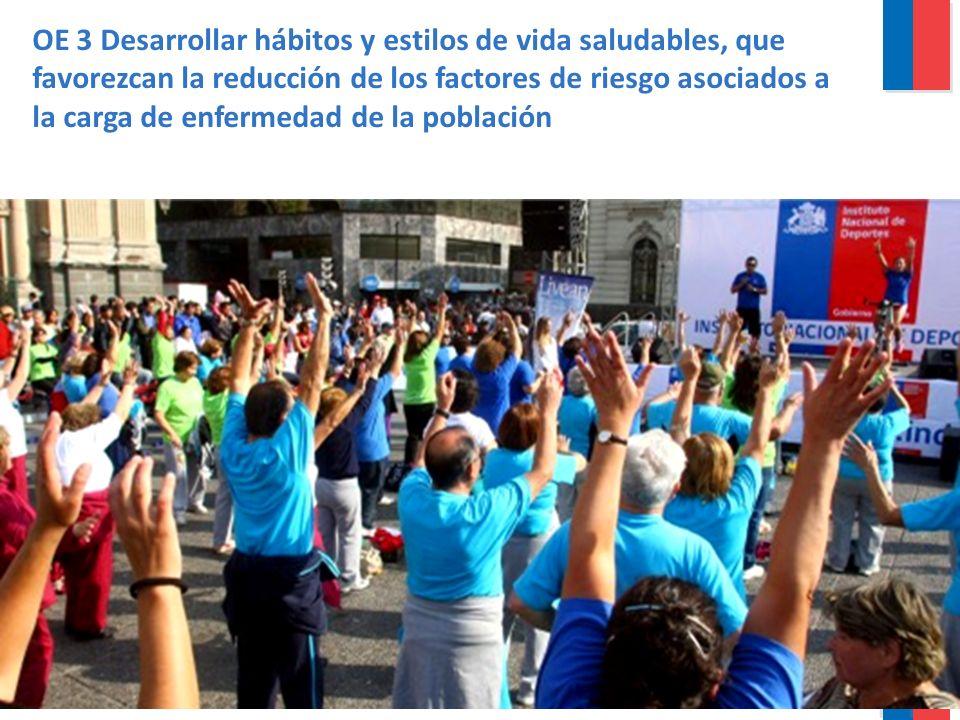Gobierno de Chile / Ministerio de Salud La Epidemia del Tabaco Principal causa de muerte y discapacidad prevenible AñoVaronesMujeresTotal Prevalencia de fumadores actuales 200348,3%36,8%42,4% 201044,2%37,1%40,6% Promedio cigarrillos fumados diarios 20038,87,38,1 201011,78,910,4