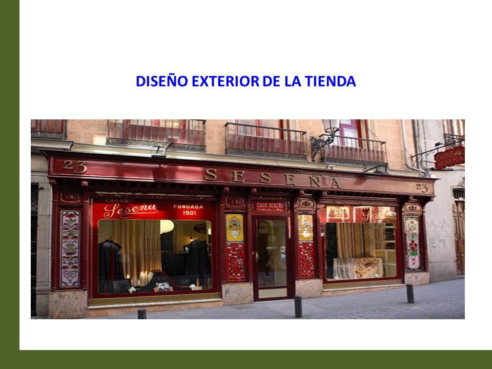 El Diseño Exterior de una tienda es una herramienta de venta de primer orden.