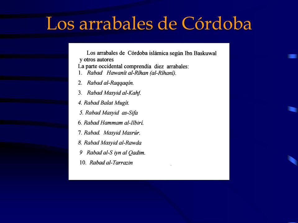 Los arrabales de Córdoba
