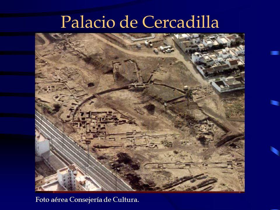Palacio de Cercadilla Foto aérea Consejería de Cultura.