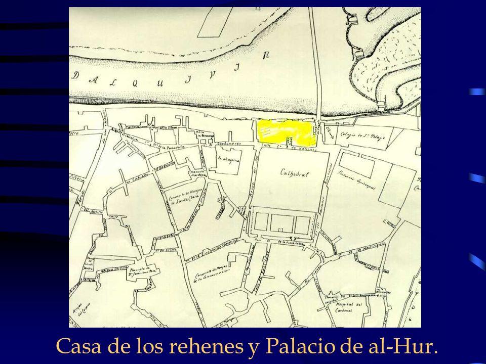 Casa de los rehenes y Palacio de al-Hur.
