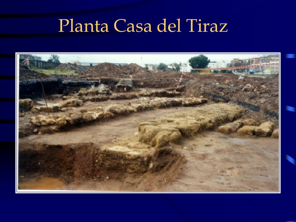 Planta Casa del Tiraz