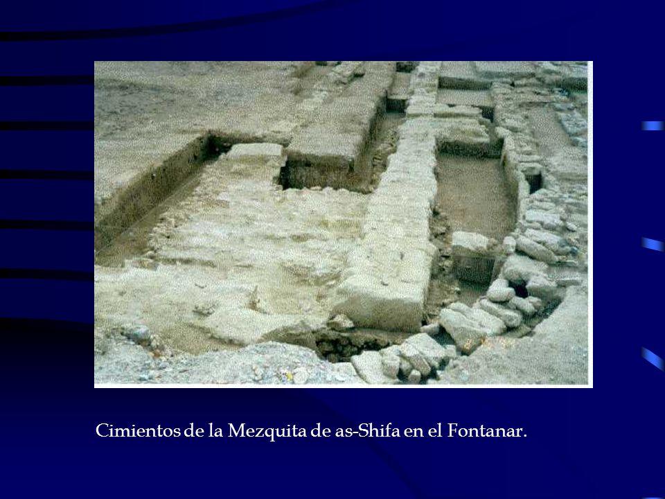 Cimientos de la Mezquita de as-Shifa en el Fontanar.