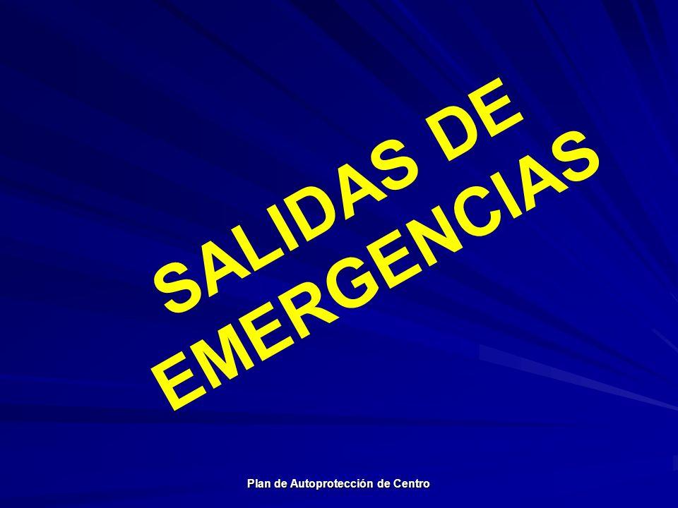 SALIDAS DE EMERGENCIAS