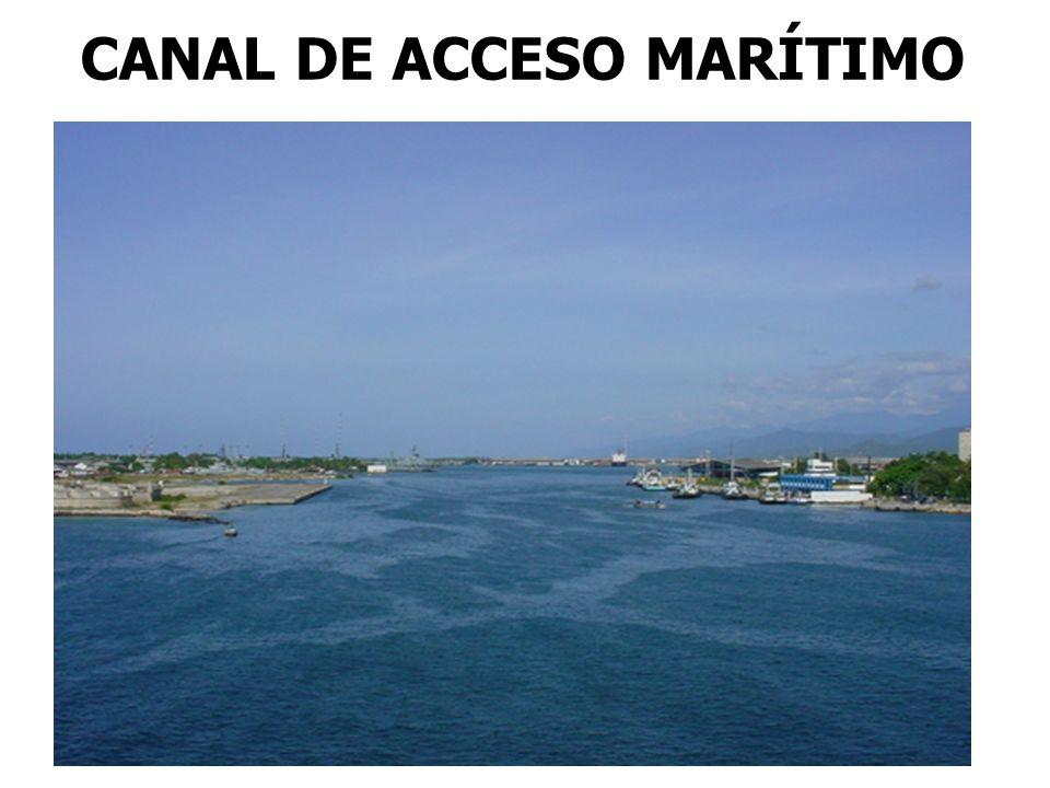 CANAL DE ACCESO MARÍTIMO