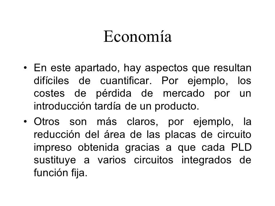 Economía En este apartado, hay aspectos que resultan difíciles de cuantificar.