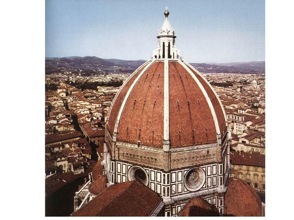 Cúpula de Santa María dei Fiore de Filippo Brunelleschi.