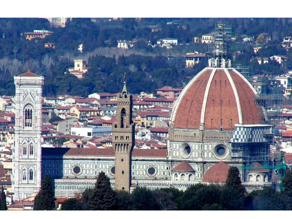 Estilo: esta cúpula es la primera obra renacentista.
