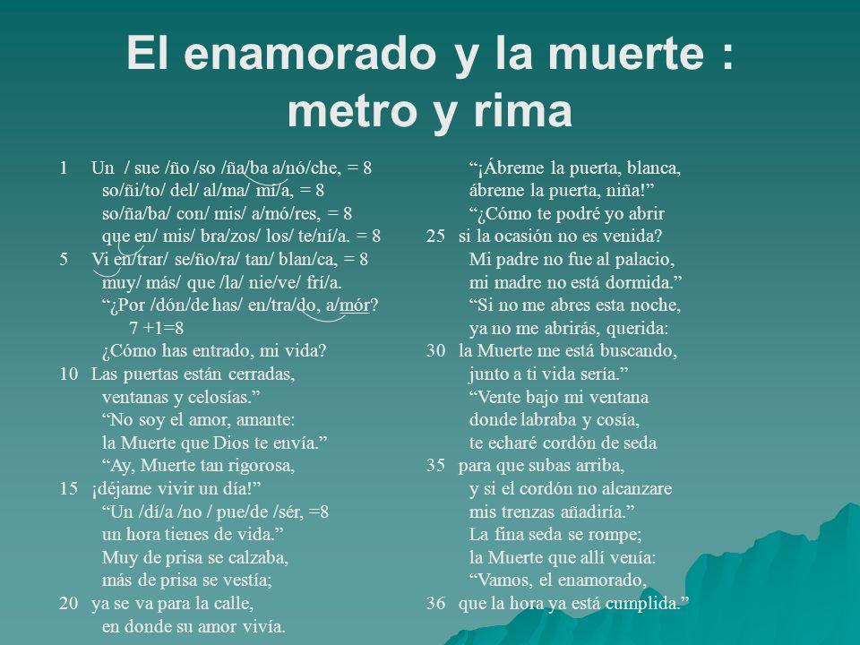 1Un / sue /ño /so /ña/ba a/nó/che, = 8 so/ñi/to/ del/ al/ma/ mí/a, = 8 so/ña/ba/ con/ mis/ a/mó/res, = 8 que en/ mis/ bra/zos/ los/ te/ní/a. = 8 5Vi e