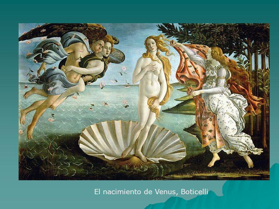 El nacimiento de Venus, Boticelli