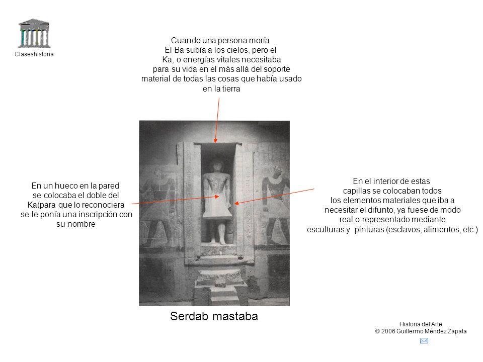 Claseshistoria Historia del Arte © 2006 Guillermo Méndez Zapata Sala hipetra Pilonos decorado con huecorelieves Rodeada en varios frentes por pórticos columnados Era la última zona a la que podía acceder el pueblo