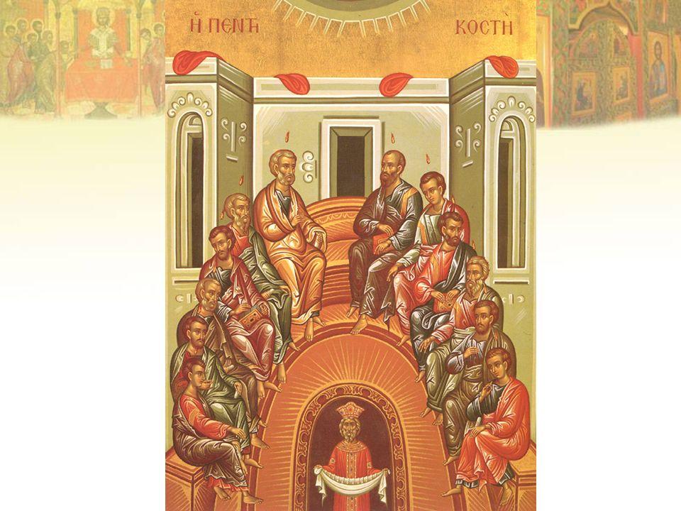 Mientras se reza el Credo el sacerdote agita el kalima grande encima de las oblaciones.