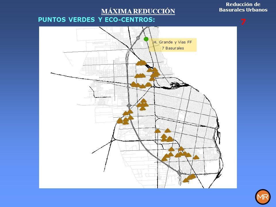 Reducción de Basurales Urbanos 7 H.
