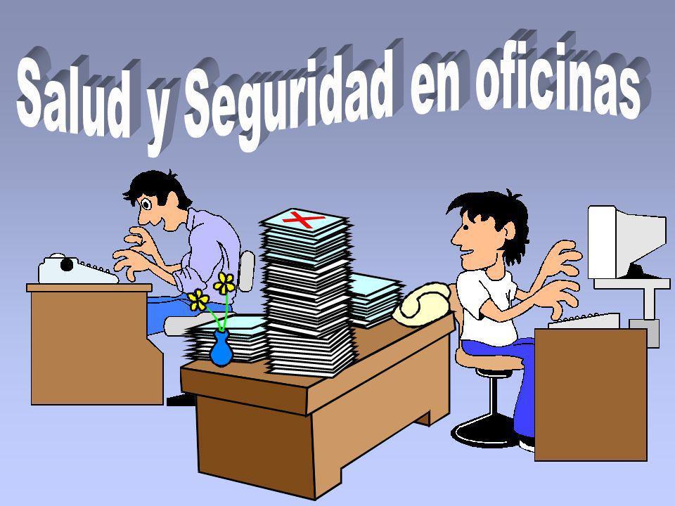 El personal que trabaja en oficinas se encuentra expuesto a riesgos.